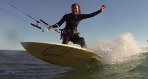 Lydia Snider Kitesurfing GoPro video editing with VideoTov