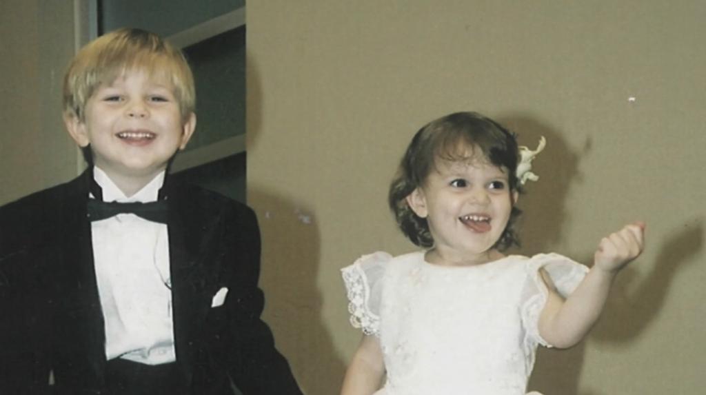 Noah and Misha as little kids.